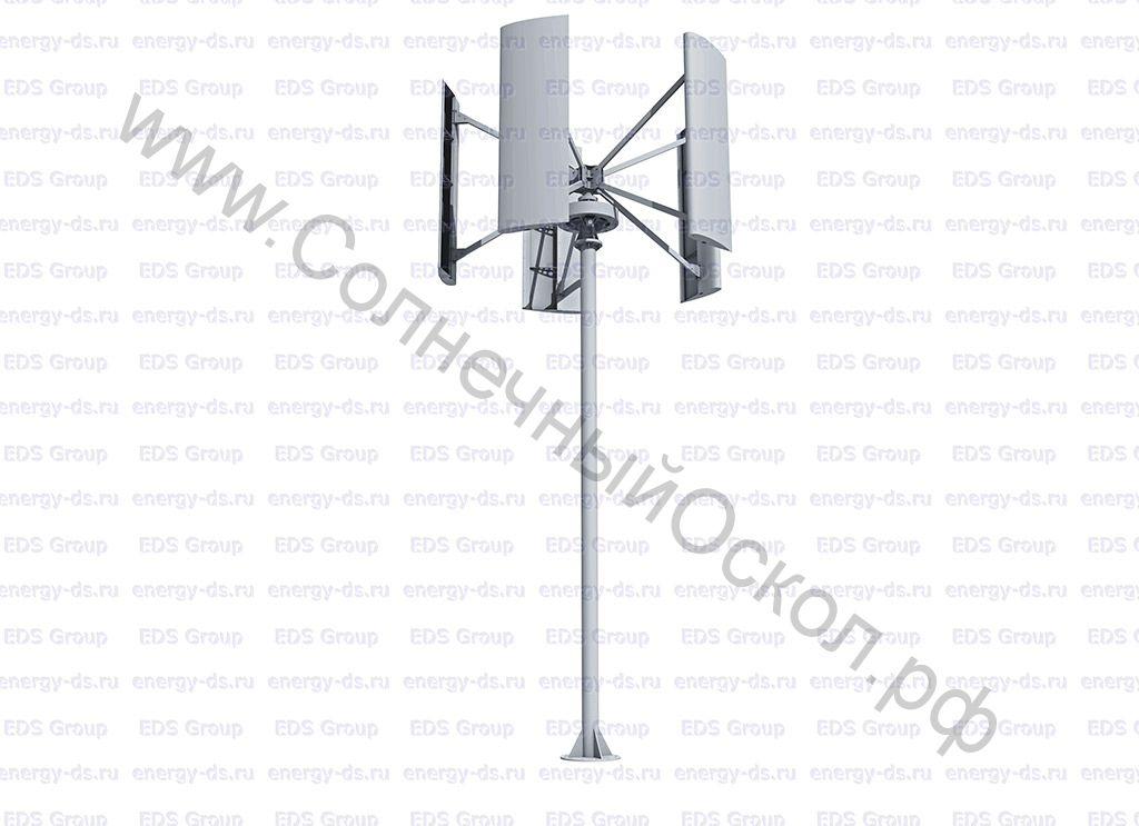 Вертикально-осевой ветрогенератор «Falcon Euro» - 3 кВт