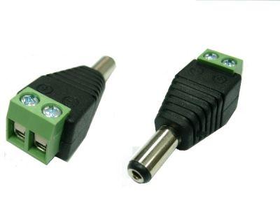 (rdtv) Коннектор под витую пару (штекер питания) (TD-311)