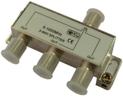 (rdtv) ТВ сплиттер Делитель SAT на 3 TD-203  (5-1000MHz)