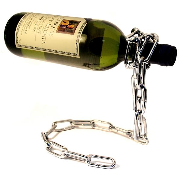 Подставка для бутылки цепь
