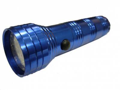 Фонарик Следопыт В303-5L (0.5W) (синий) кн.сбоку