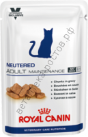 Royal Canin для кошек Neutered Adult Maintenance, пауч 100 гр. уп. 12 шт.