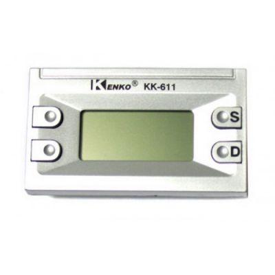 Часы авто Kenko 611А c будильником