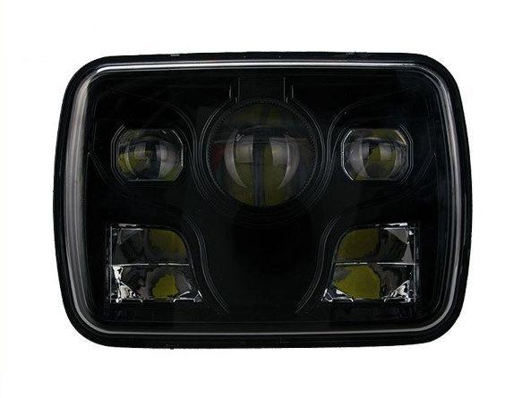 Прямоугольные светодиодные фары головного света 5х7 дюймов 45W