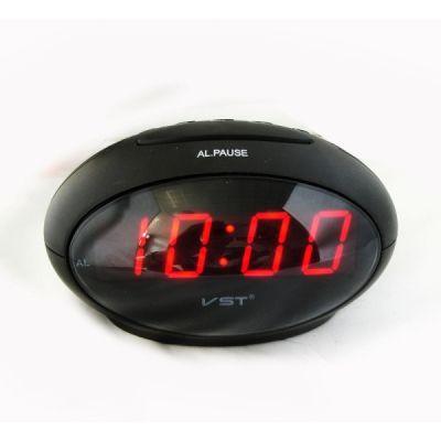 VST711-1 часы 220В крас.цифры #