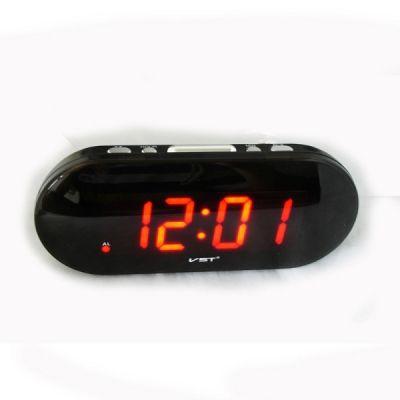 VST717-1 часы USB крас.цифры