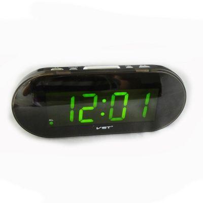 VST717-2 часы 220В зел.цифры