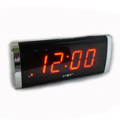 VST730-1 часы 220В красн.цифры