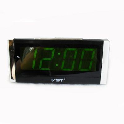 VST731-2 часы 220В зел.цифры