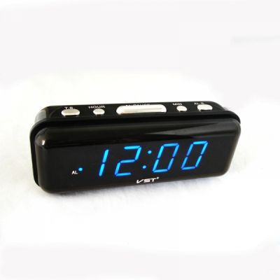 VST738-5 часы 220В син.цифры