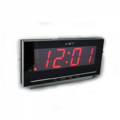VST778-1 часы 220В крас.цифры