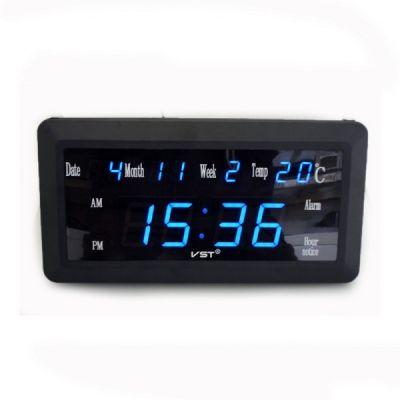 VST780W-5 часы 220В син.цифры с б.п.