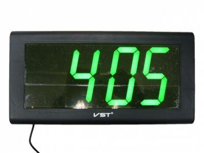 VST795-4 часы 220В зел.цифры *