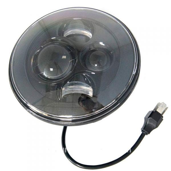 Светодиодные LED фары головного света 7 дюймов Нива