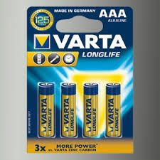 Батарея AA VARTA LONGLIFE (Алкалиновые) 1 штука