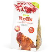TiTBiT Печенье для собак Rolls с начинкой из мяса ягненка (200 г)