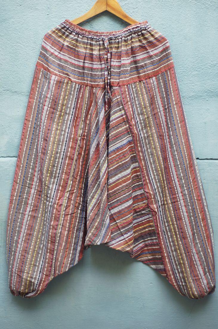 Индийские мужские штаны алладины (отправка из Индии)