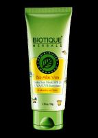 Солнцезащитный крем для детей от 6 месяцев Биотик Алое SPF 20 (Biotique Aloe Baby Sun Cream)