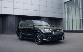 Аэродинамический обвес WALD Black Bizon edition Lexus 570 2013 -