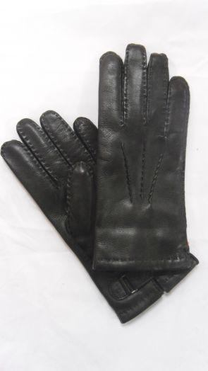 Перчатки зимние кожаные мужские HRAD 1589 black