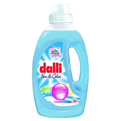 Dalli Гель для стирки деликатных тканей Fein Color 20 стирок 1,35 л