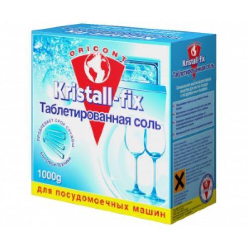 Luxus Professional Таблетированная соль для посудомоечных машин Kristall-fix 1 кг