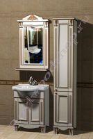 """Комплект мебели для ванной """"Руссильон PROVENCE-55 светлое дерево"""" стиль Прованс"""