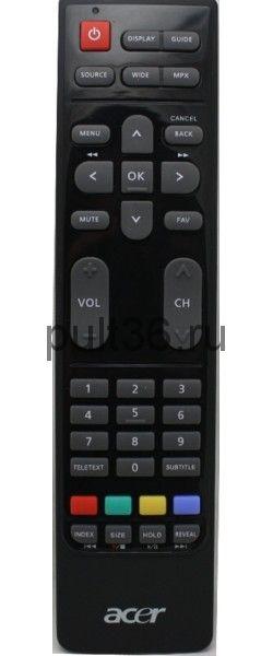 Пульт Acer AT2326 (A-39) замена IRC