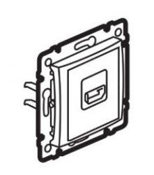 Розетка HDMI Legrand Valena сл. кость