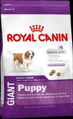 Royal Canin Giant puppy для щенков (c 2 до 8 мес.) собак очень крупных (более 45 кг) размеров 15 кг.