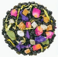 Утро Клеопатры - зеленый и черный  китайский чай с натуральными ароматизаторами.