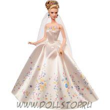 Кукла Барби Принцесса Золушка Свадьба 2015 - Disney Princess Cinderella Wedding Doll