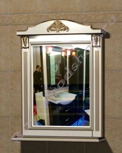 "Зеркало  ""Руссильон PROVENCE-80 светлое дерево"""