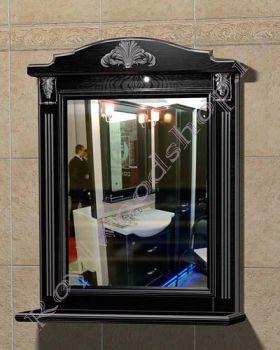 "Зеркало  ""Руссильон PROVENCE-85 черное дерево"""