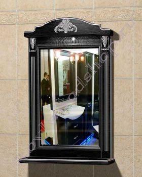 "Зеркало  ""Руссильон PROVENCE-60 черное дерево"""