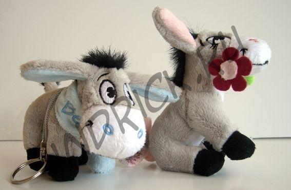 Плюшевые ослики Беллис и Лили