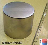 Магнит неодимовый 70х50 мм 250кг