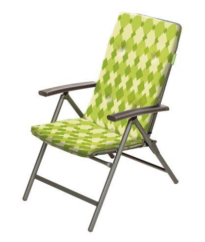 FORESTER Кресло с 6 - регулируемой спинкой с мягким наполнителем из хлопка и съемным чехлом