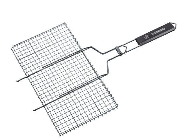 FORESTER Решетка - гриль большая с антипригарным покрытием, 26х45см