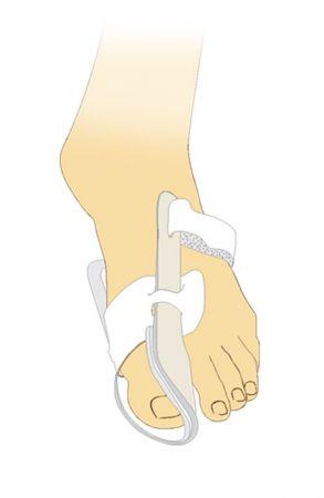 Бандаж ночной, для отведения большого пальца стопы (пара) Тривес УТГ-01