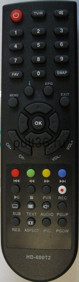 Пульт ДУ DVB-T2 DiVisat DVS HD-600T2