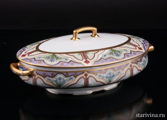 Посуда Тюринница производства Hutschenreuther, Австрия, 1909-1918 гг.