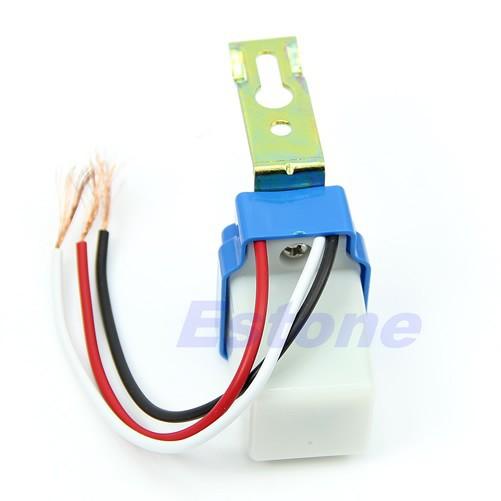 Реле включения освещения автоматическое (день-ночь) 220 Вольт.
