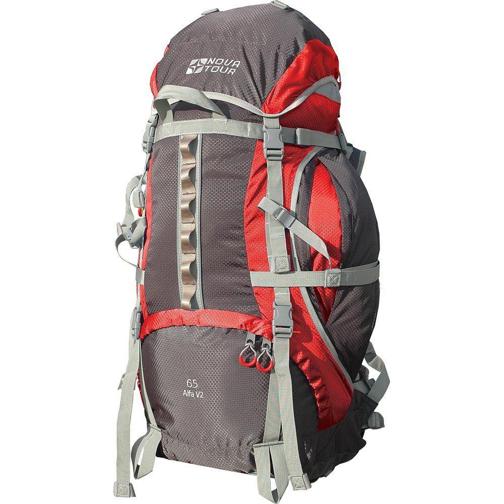 NOVA TOUR АЛЬФА 65 V2 туристический рюкзак