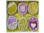 Имбирные пряники «Пасхальные яйца» Пасхальные подарки