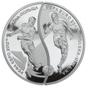 Чемпионат Европы по футболу 2010-2012  10 злотых-10 гривен  Польша-Украина