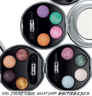 Профессиональные четырехцветные тени для век