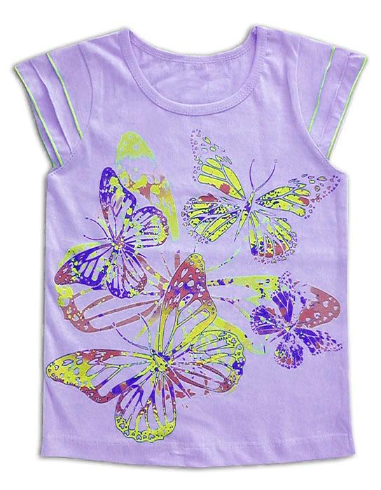 Блуза для девочки Сирень