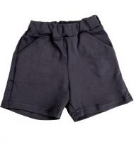 Темно-серые шорты для мальчика