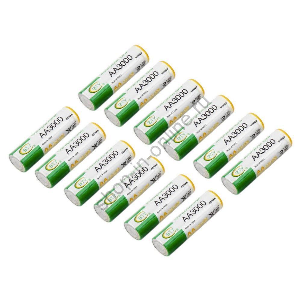 Аккумулятор 3000mAh AA Ni-MH 1.2V - 4шт./12 шт. ZC08000